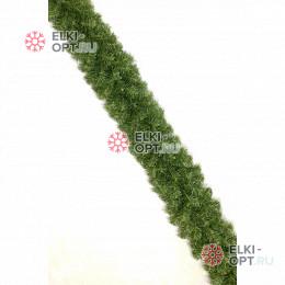 Гирлянда хвойная d-28см длина 2,7м цвет зеленый
