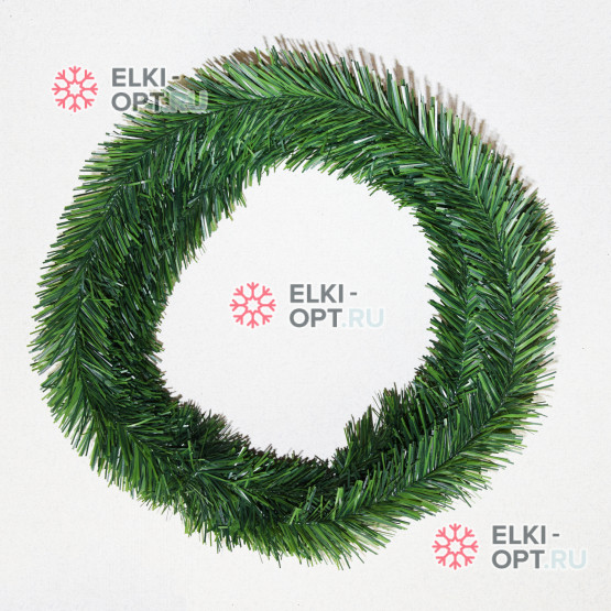 Еловая лента цвет зеленый d-5см длина 5,8м
