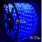 Дюралайт цвет синий d-10.5мм 100м, постоянное свечение (фиксинг), 220V