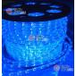 Дюралайт LED цвет синий 100м d-10.5мм  постоянное свечение двухжильный