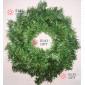 Венок новогодний d-35см цвет зеленый 10шт х 383руб