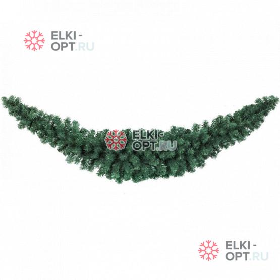 Гирлянда хвойная Сваг  длина 2,7м цвет зеленый