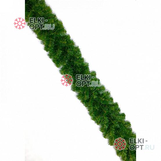 Гирлянда хвойная d-25 см  длина 2,7м цвет зеленый