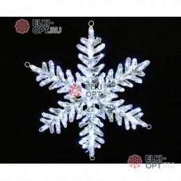 Светодиодная Снежинка 80см