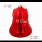 Колокольчик пластиковый 14см цвет красный