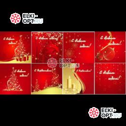 Ограждения для каркасных елок Красная тема