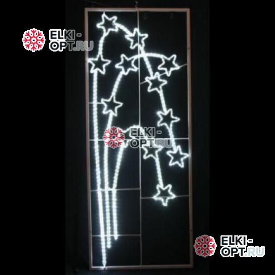 Фигура светодиодная Фейерверк - звездопад 165см