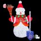 Световая Акриловая Фигура Снеговик 170см