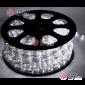 Дюралайт LED цвет белый 50м d-10,5мм трехжильный (чейзинг)