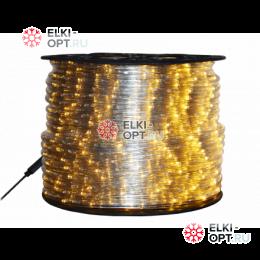 Дюралайт LED цвет теплый белый 100м d-10.5мм  постоянное свечение двухжильный