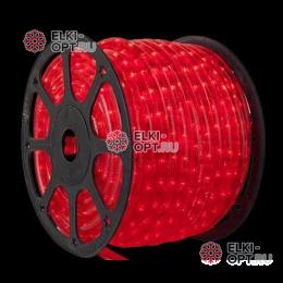 Дюралайт LED цвет красный 100м d-13мм постоянное свечение двухжильный