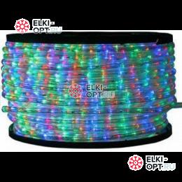 Дюралайт LED цвет мульти 100м d-13мм постоянное свечение двухжильный