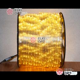 Дюралайт LED цвет теплый белый 100м d-13мм