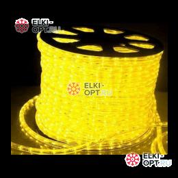 Дюралайт LED цвет желтый 100м d-10,5мм постоянное свечение двухжильный