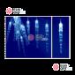 Светодиодная гирлянда Сосульки цвет белый 24V 10м IP44 постоянное свечение
