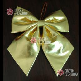 Бант блестящий 50 см цвет золото