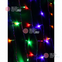 Светодиодный занавес 2*1,5м цвет мульти IP44 10шт х2550руб