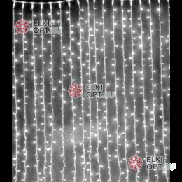Светодиодный занавес 2*3м цвет белый IP22 10шт х3825руб постоянное свечение